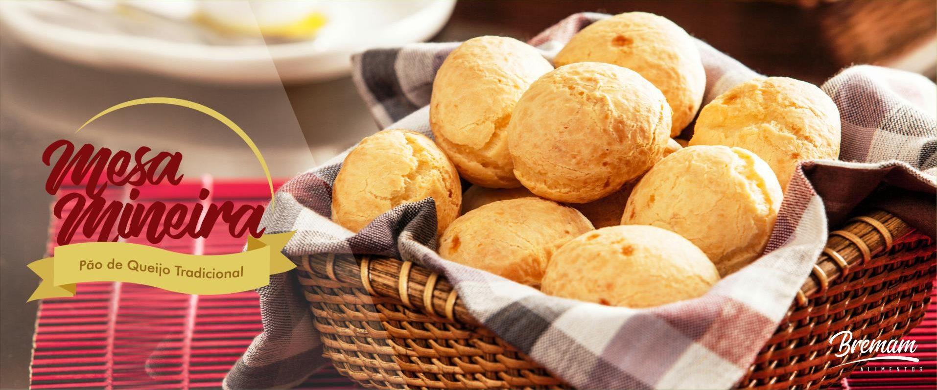 Pão de Queijo - Breman Alimentos